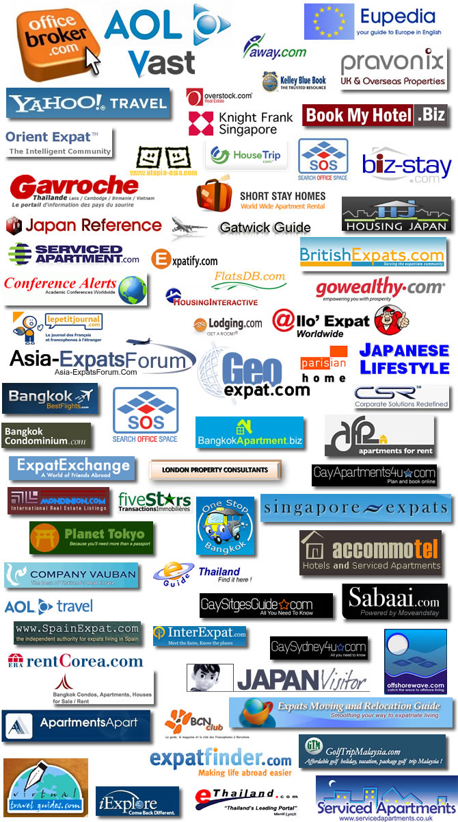 Moveandstay business partners (affiliates, apartments and offices)