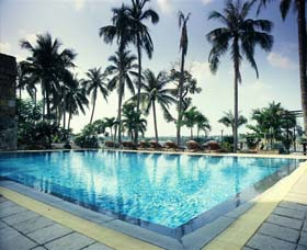 Swimming Pool 3-Bedroom Apartment 164 Sq.m. Saigon Domaine Luxury Residences