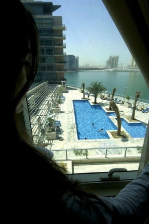 Swimming Pool Studio Apartment 50 Sq.m. Nuran Marina Serviced Residences