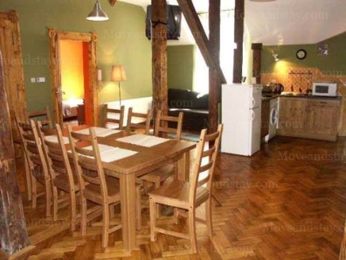dining area 1-Bedroom Apartment 0 Sq.m. Old Town Apartments- Krakow