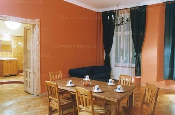 living room 4-Bedroom Apartment 0 Sq.m. Old Town Apartments- Krakow