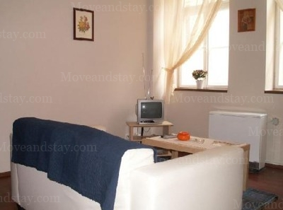 living room 1.floor 1-Bedroom Apartment 0 Sq.m. Jilska Serviced Apartments