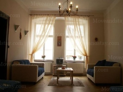 living room 2.floor, Serviced Apartments Ref: 11432, Prague