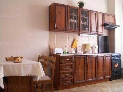 kitchen 2.floor 1-Bedroom Apartment 0 Sq.m. Jilska Serviced Apartments