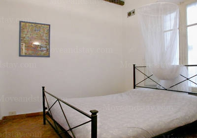Bed Room 1-Bedroom Apartment 0 Sq.m. Rome Apartments Via di S. Onofrio (SON)