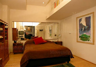 Bedroom 1-Bedroom Apartment 0 Sq.m. Rome Apartments Via Flaminia (FLA)