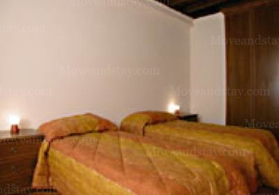 second bedroom 2-Bedroom Apartment 0 Sq.m. Rome Apartments Via dei Prefetti (PRE)