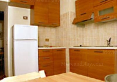 kitchen 2-Bedroom Apartment 0 Sq.m. Rome Apartments Via dei Prefetti (PRE)