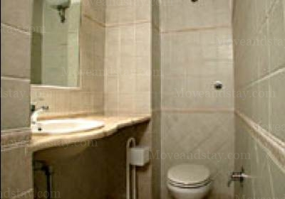 first toilet 2-Bedroom Apartment 0 Sq.m. Rome Apartments Via dei Prefetti (PRE)