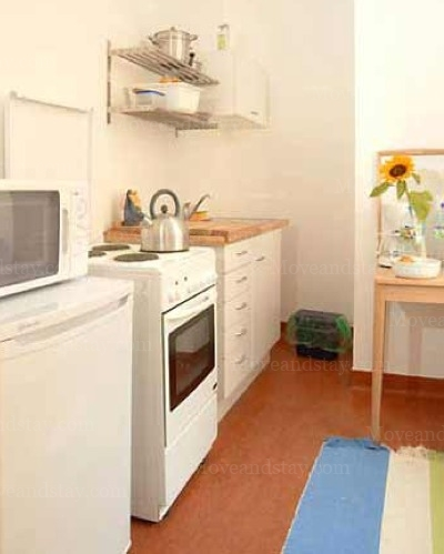 Bach - Kitchen Studio Apartment 34 Sq.m. Apartments at Schoenhauser Allee 5