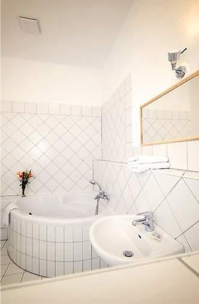 Strauss - Bathroom Studio Apartment 34 Sq.m. Apartments at Schoenhauser Allee 5
