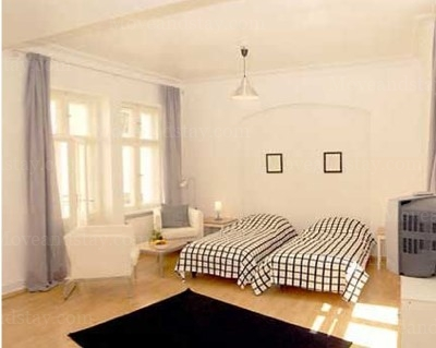 Brahms - Bedroom Studio Apartment 34 Sq.m. Apartments at Schoenhauser Allee 5