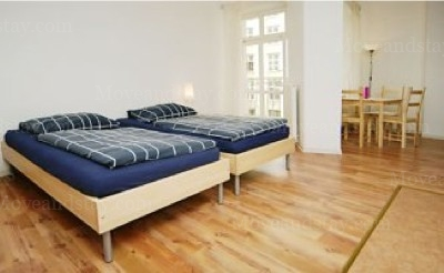 Buxtehude - Bedroom Studio Apartment 34 Sq.m. Apartments at Schoenhauser Allee 5