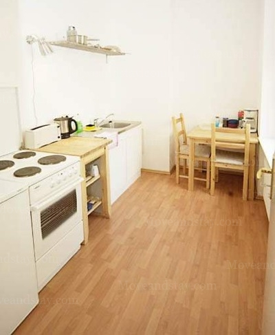 Gluck - Kitchen Studio Apartment 34 Sq.m. Apartments at Schoenhauser Allee 5