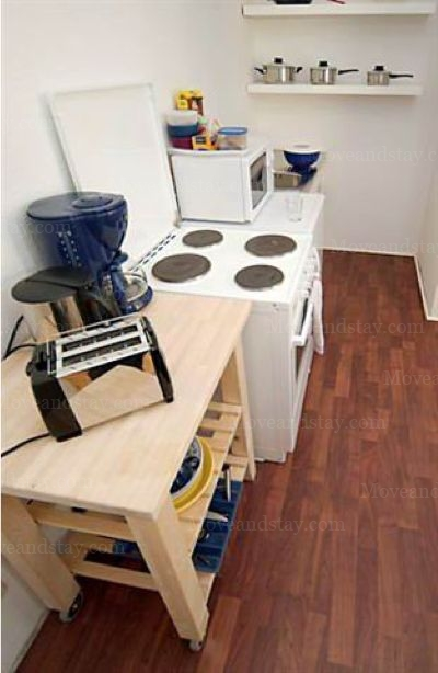 Pachelbel - Kitchen Studio Apartment 34 Sq.m. Apartments at Schoenhauser Allee 5