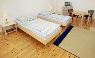 Pachelbel - Bedroom Studio Apartment 34 Sq.m. Apartments at Schoenhauser Allee 5
