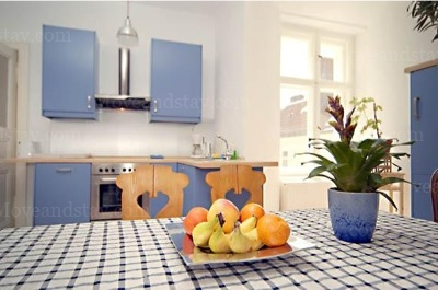 Schubert - Kitchen Studio Apartment 34 Sq.m. Apartments at Schoenhauser Allee 5