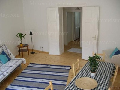 Dvorak - Living Area, Serviced Apartments Ref: 12984, Berlin