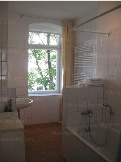 Dvorak - Bathroom 1-Bedroom Apartment 60 Sq.m. Apartments at Zehndenickerstrasse  5