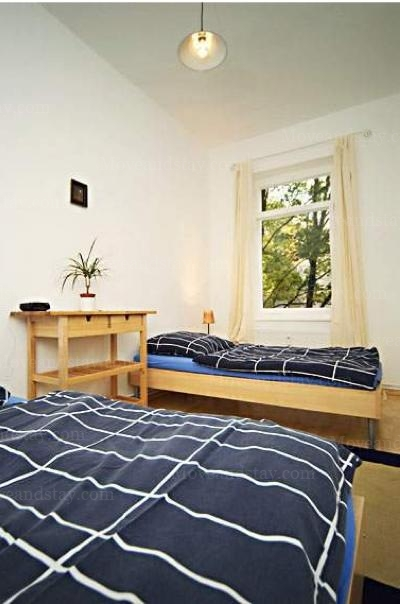 Janacek - Bedroom, Serviced Apartments Ref: 12984, Berlin