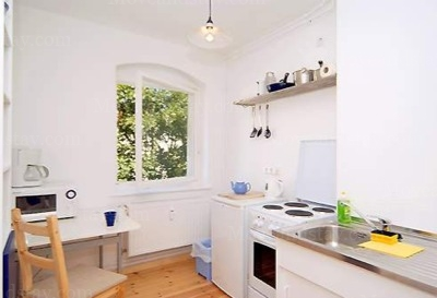 Smetana - Kitchen, Serviced Apartments Ref: 12984, Berlin