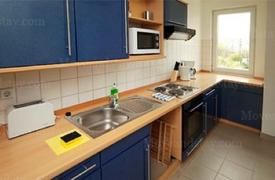 Berlioz - Kitchen Studio Apartment 37 Sq.m. Apartments at Gartenstrasse 92