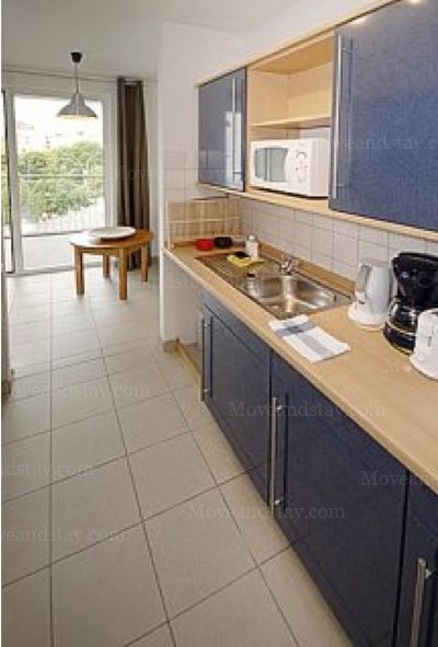 Lully - Kitchen Studio Apartment 37 Sq.m. Apartments at Gartenstrasse 92