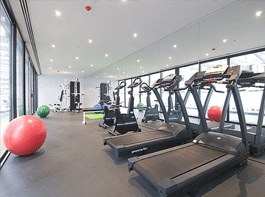 Gym 1-Bedroom Apartment 60 Sq.m. Grand Harbour Accommodation @ Watergate