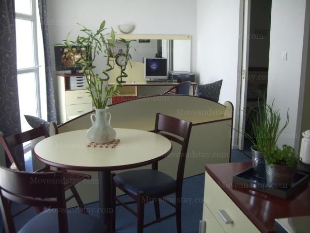 Living Room 2 2-Bedroom Apartment 45 Sq.m. Appart`City Nancy