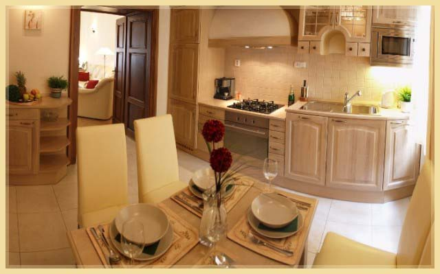 Kitchen 1-Bedroom Apartment 85 Sq.m. Residence Lipova - Executive Apartments A,B