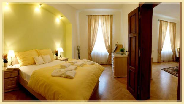 Bedroom 1-Bedroom Apartment 85 Sq.m. Residence Lipova - Executive Apartments A,B