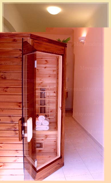 sauna 1-Bedroom Apartment 85 Sq.m. Residence Lipova - Executive Apartments A,B