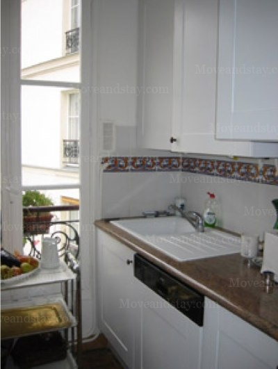 Kitchen 2-Bedroom Apartment 0 Sq.m. 2 Bedroom - Rue des Filles du Calvaire