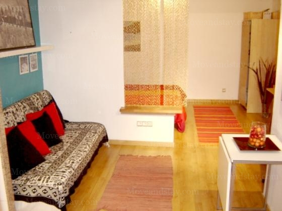 1 Studio Apartment 25 Sq.m. Barceloneta Beach REF 10042