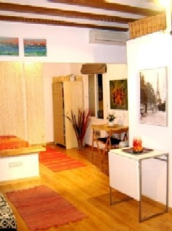 2 Studio Apartment 25 Sq.m. Barceloneta Beach REF 10042