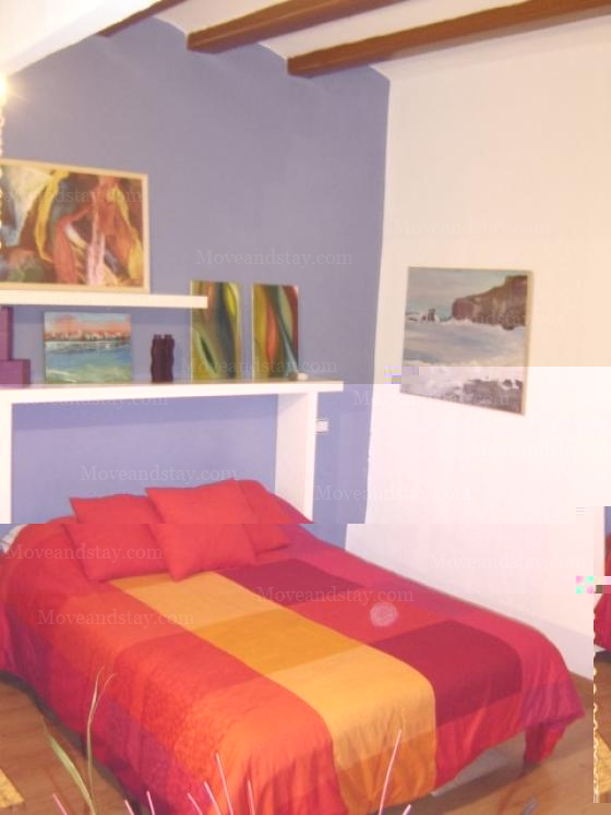 5 Studio Apartment 25 Sq.m. Barceloneta Beach REF 10042