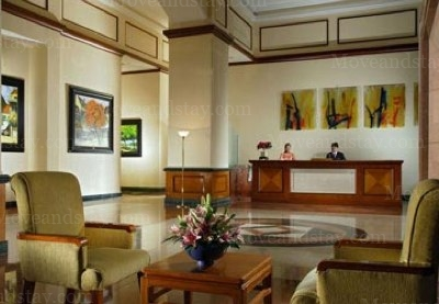 Lobby 3-Bedroom Apartment 128 Sq.m. Somerset Grand Hanoi