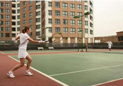 Tennis Court 3-Bedroom Apartment 128 Sq.m. Somerset Grand Hanoi