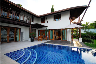 Villa 1-Bedroom Apartment 89 Sq.m. The Village Coconut Island