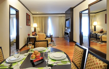 2 Bedroom 1-Bedroom Apartment 45 Sq.m. MiCasa All Suite Hotel