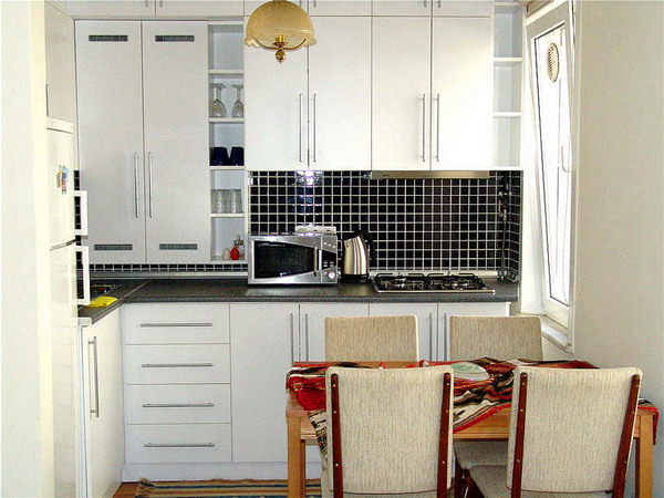 KITCHEN 1-Bedroom Apartment 50 Sq.m. Istanbul Apartments-1001 NIGHT SUIT