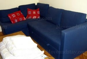 Sofa Bed 2-Bedroom Apartment 94 Sq.m. Apartment Museum Boulevard Budapest