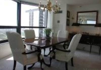 dinning room 3-Bedroom Apartment 0 Sq.m. Manilow Suites North Harbor Tower Serviced Apartments