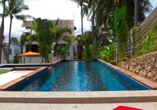 Salt Water Pool 2-Bedroom Apartment 105 Sq.m. SamuiSabai