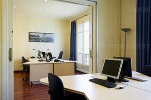 Work station Serviced Offices Apartment 0 Sq.m. Calle Balmes, 188, 7º 1ª.