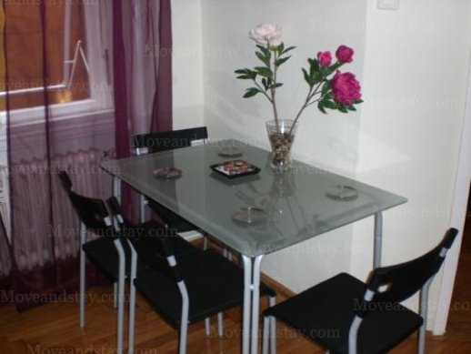 Dining Area 2-Bedroom Apartment 0 Sq.m. Boulevard Apartment Budapest