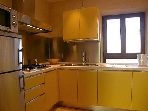 Kitchen 1-Bedroom Apartment 0 Sq.m. Rome Apartment Via Milano (MI)
