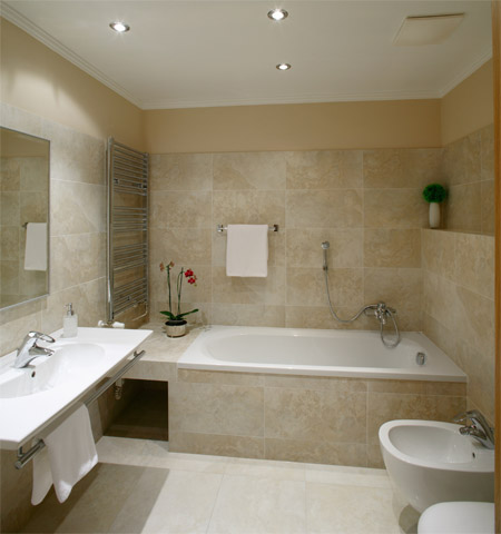 Bathroom 1-Bedroom Apartment 45 Sq.m. Hunger Wall Residence