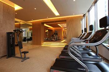Fitness 1-Bedroom Apartment  Sq.ft. GARDENEast Serviced Apartments