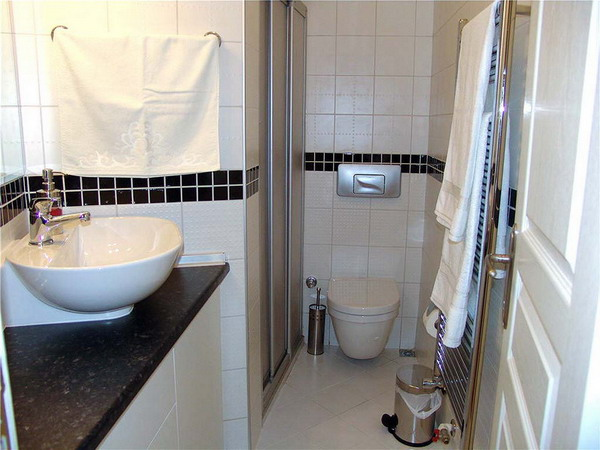 BATHROOM 1-Bedroom Apartment 50 Sq.m. Istanbul Apartments-1001 NIGHT SUIT